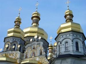 Golden domes of Kiev