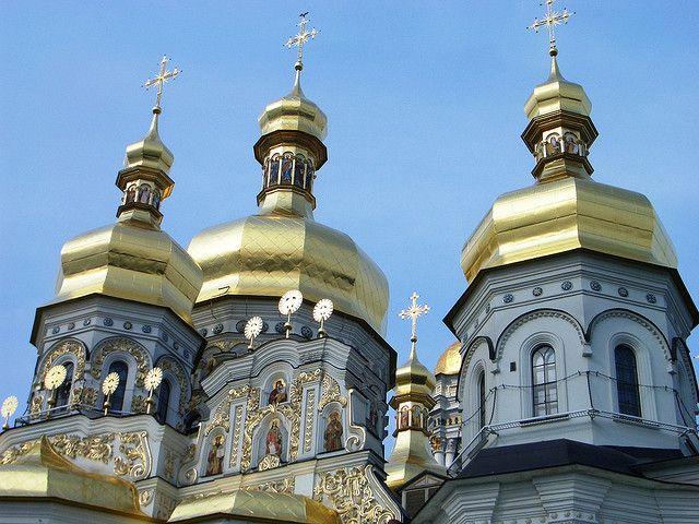 Golden domes of Kiev sophie