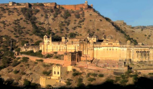East Facade of Amber Fort Palace