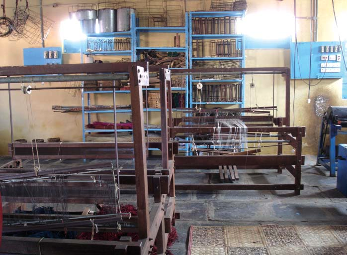 Handloom workshop