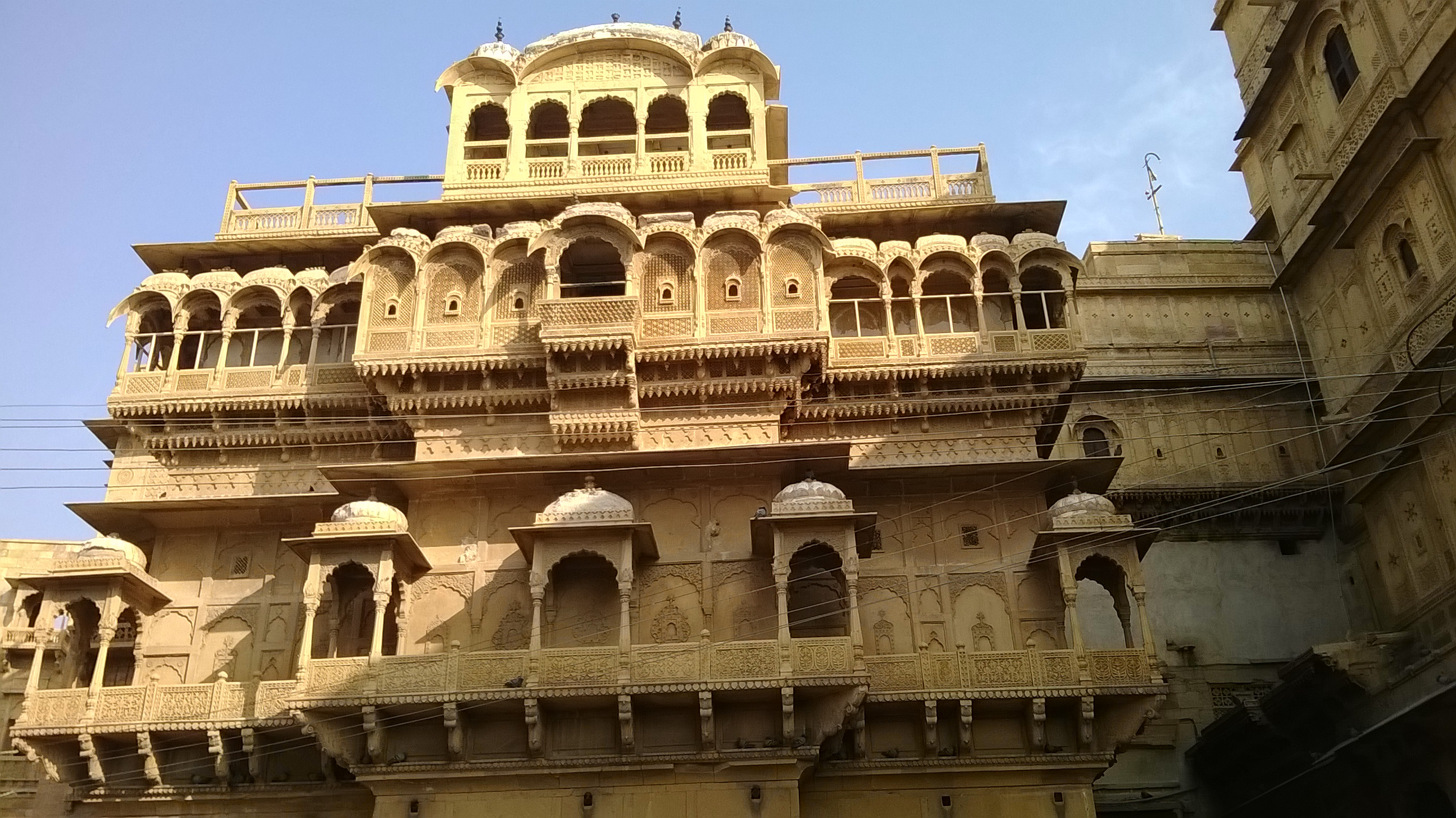 Rajasthan Hill Forts Jaisalmer Haveli