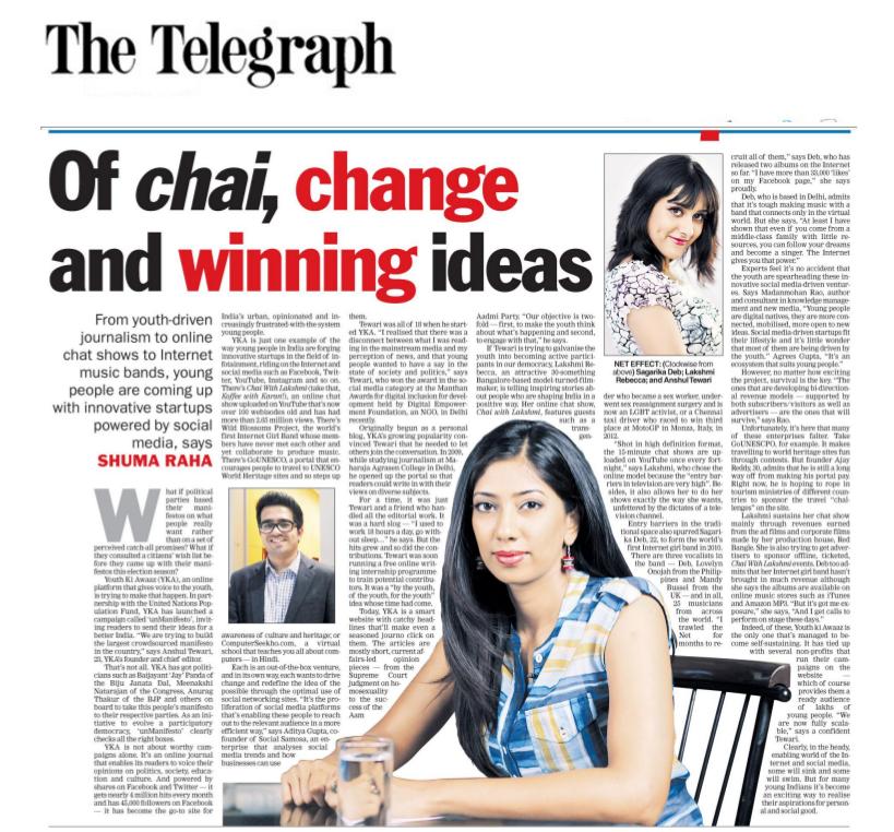 Telegraph 23 dec 2013