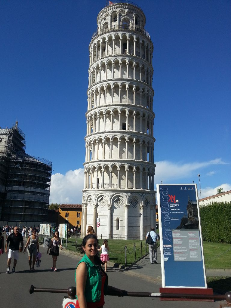 Leaning tower of Pisa - Ishita