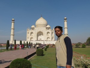 The beauty of white marble – TAJ