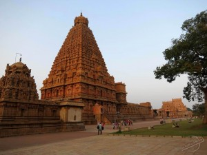Brihadeeswarar Temple in Tanjavur, India