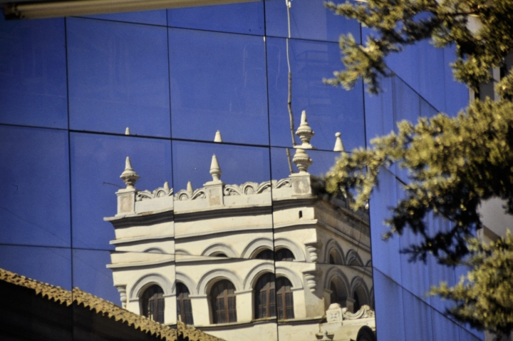 grandeur reflecting City of Potosí
