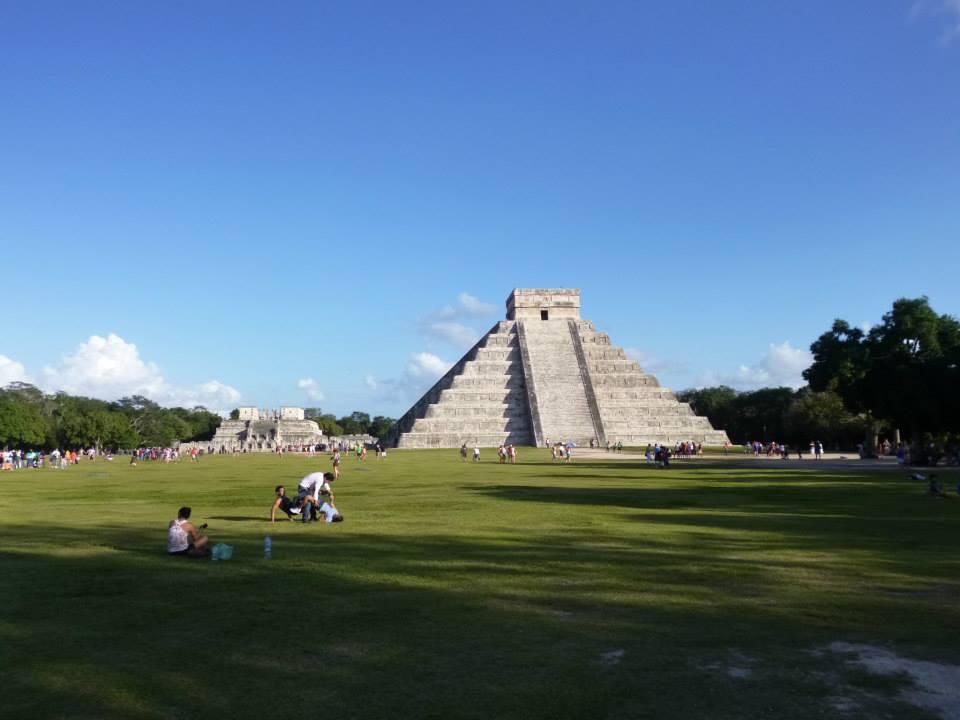 El Castillo Pre-Hispanic City of Chichen-Itza - Mexico Charlotte