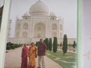 visited Taj mahal in 2005
