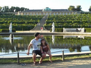 Potsdam – my princess in the castles park