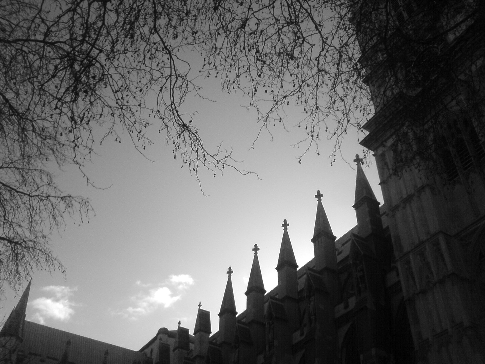 silhouettes - Westminster Palace, Westminster Abbey and Saint Margaret's Church - United Kingdom of Great Britain and Northern Ireland Cathrin Eszbach