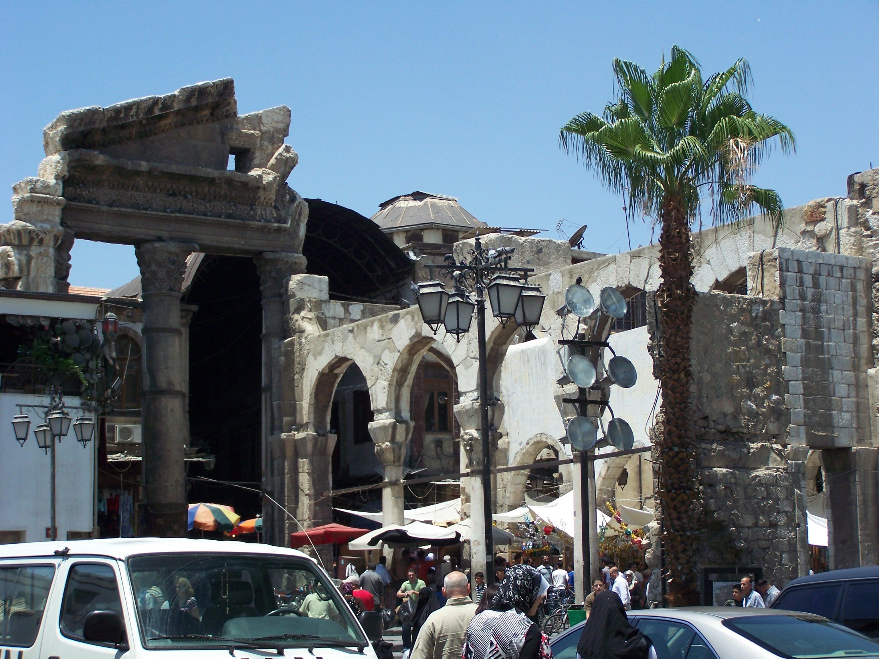 the great sukh - Ancient City of Damascus - Syrian Arab Republic Cathrin Eszbach