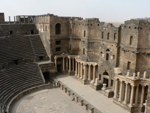 Amphitheatre at Bosra