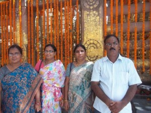 visited mahabodhi temple complex at bodh gaya in aug'2013