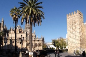 Cathedral, Alcázar and Archivo de Indias in Seville