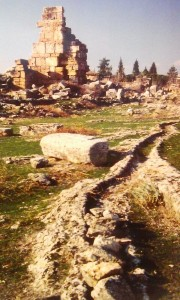 Hierapolis watersystem
