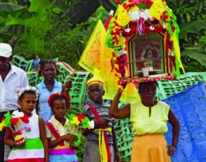 Cultural space of the Brotherhood of the Holy Spirit of the Congos of Villa Mella