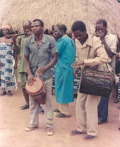 Gbofe of Afounkaha, the music of the transverse trumps