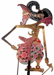Wayang puppet theatre