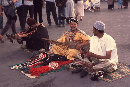 Cultural space of Jemaa el-Fna Square