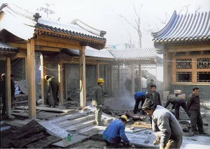 Chinese traditional architectural craftsmanship
