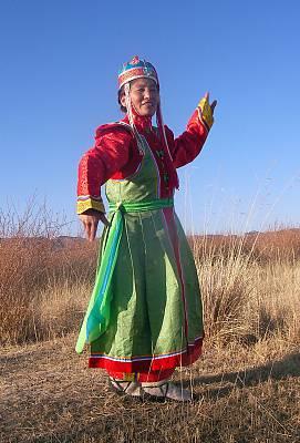 Mongol Biyelgee, Mongolian traditional folk dance