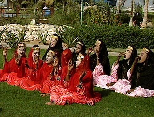 Al-Bar'ah, music and dance of Oman Dhofari valleys