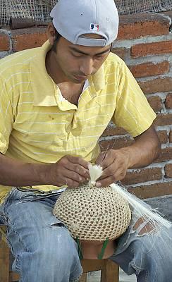 Parachicos in the traditional January feast of Chiapa de Corzo