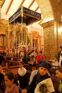 Holy Week processions in Popayán