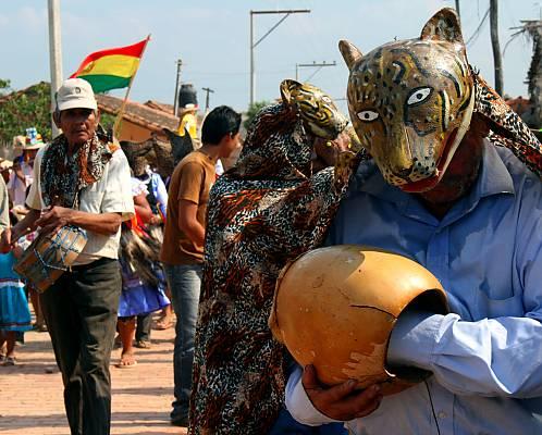 Ichapekene Piesta, the biggest festival of San Ignacio de Moxos