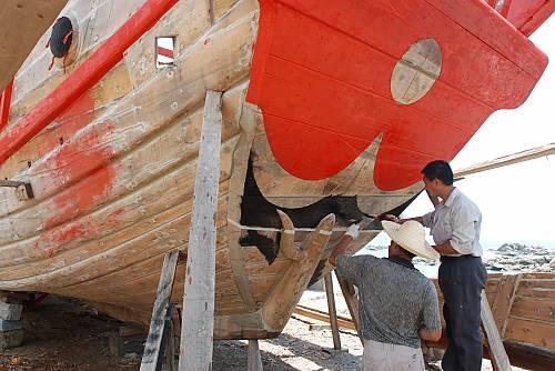 Watertight-bulkhead technology of Chinese junks
