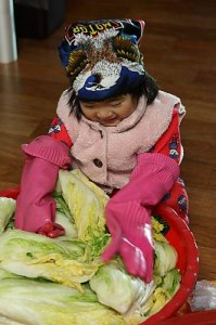 Kimjang, making and sharing kimchi in the Republic of Korea