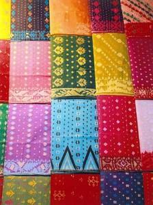 Traditional art of Jamdani weaving