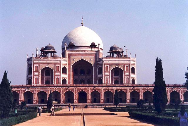 Humayun's Tomb, Delhi - India Anne-Sophie Redisch