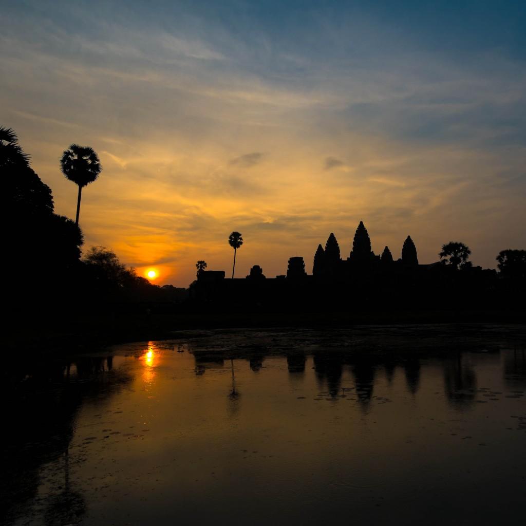 Sunrise Ankor Wat Paul Brooks