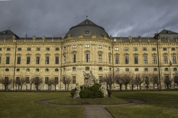 Würzburg Residence with the Court Gardens and Residence Square - Germany Corinne vail