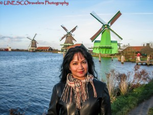 The Canals and Windmills of Holland