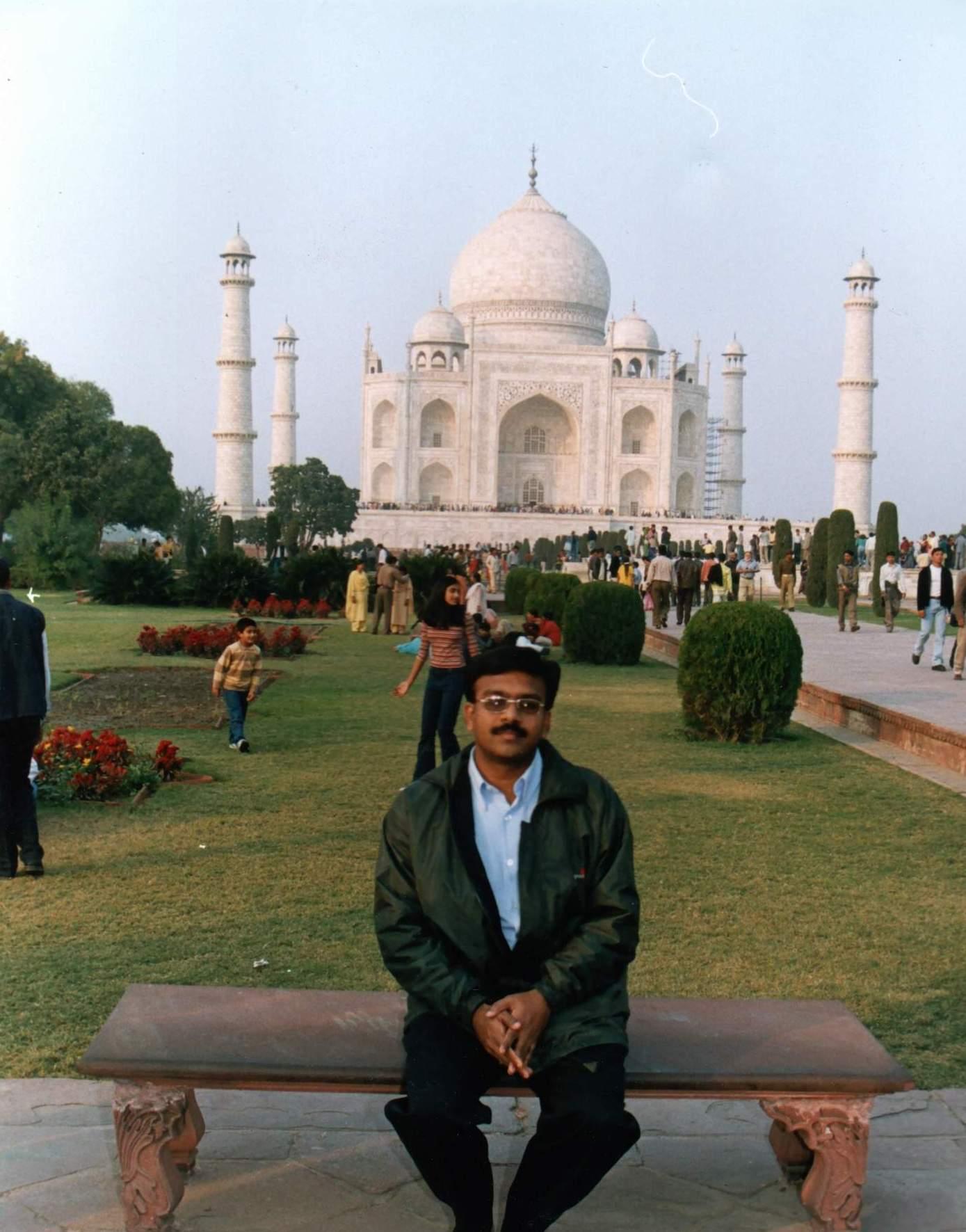 Taj Mahal 2003 Taj Mahal - India Senthildurai