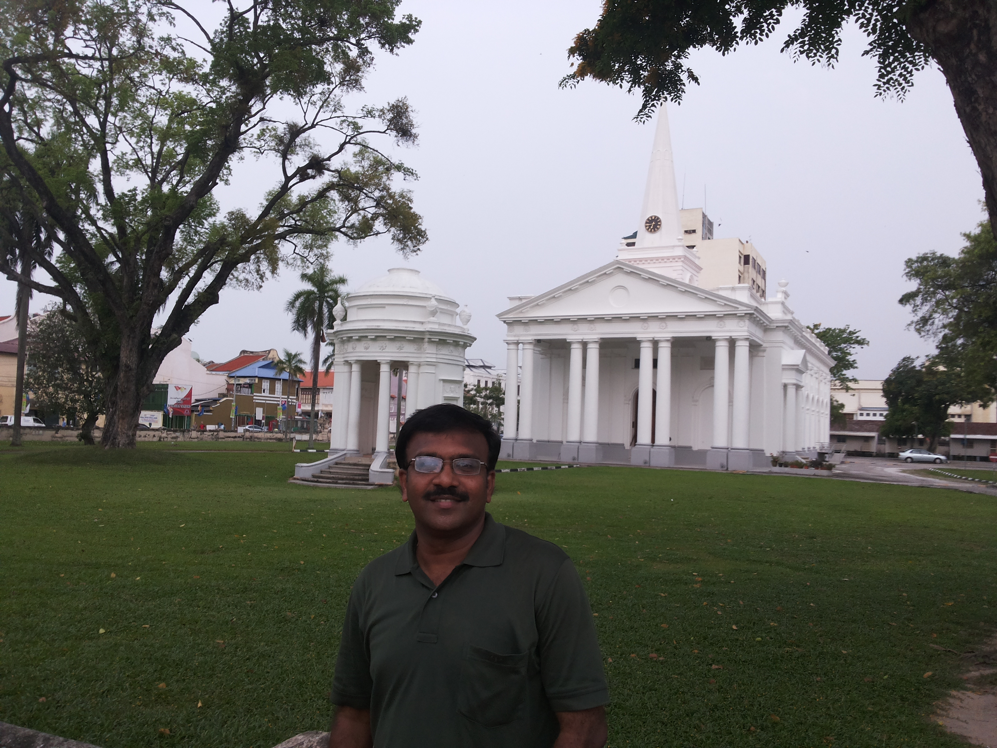 St. George's Church, George Town, Penang Malaysia Senthil Durai