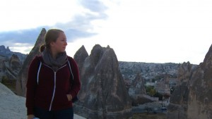 Watching the Sunset on Cappadocia