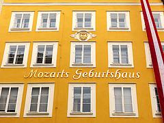 Mozart's Birthplace Historic Centre of the City of Salzburg - Austria Trailblazer