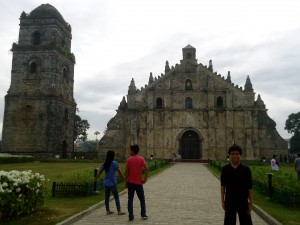 Church of San Agustin in Paoay, Ilocos Norte