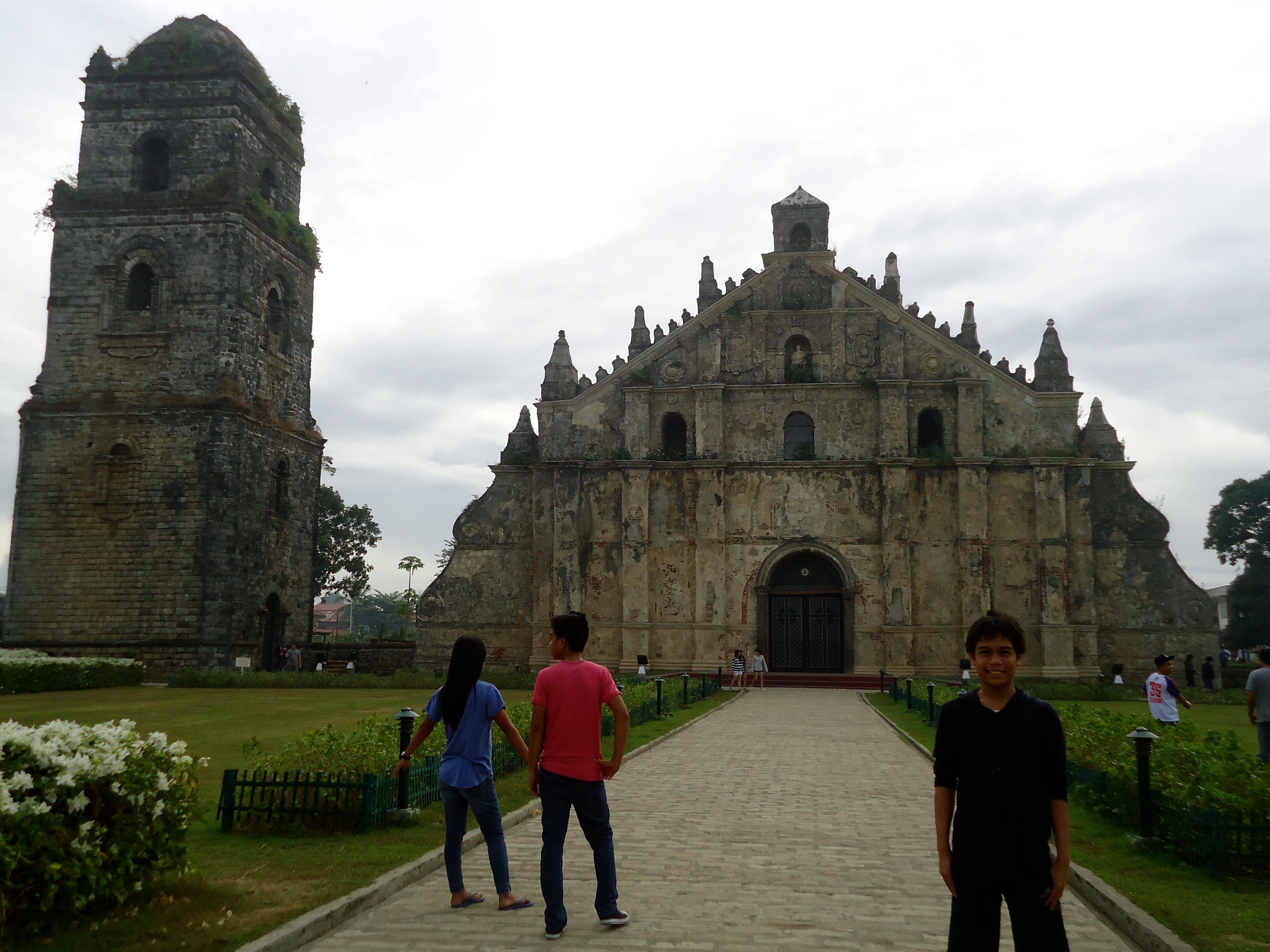 Church of San Agustin in Paoay, Ilocos Norte Baroque Churches of the Philippines - Philippines carlos ortiz