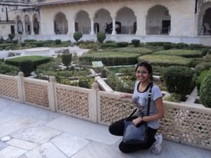 Queen's Kitchen-Garden at Amber Palace, Rajasthan