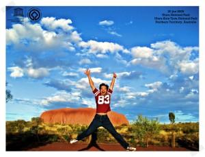 Uluru Giant Stones