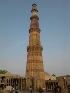 Visit to Qutab Minar