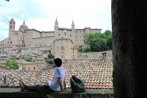 A window into Urbino, flower of the Renaissance culture
