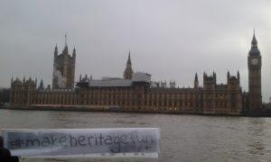 #makeheritagefun event London Sunday 18th December