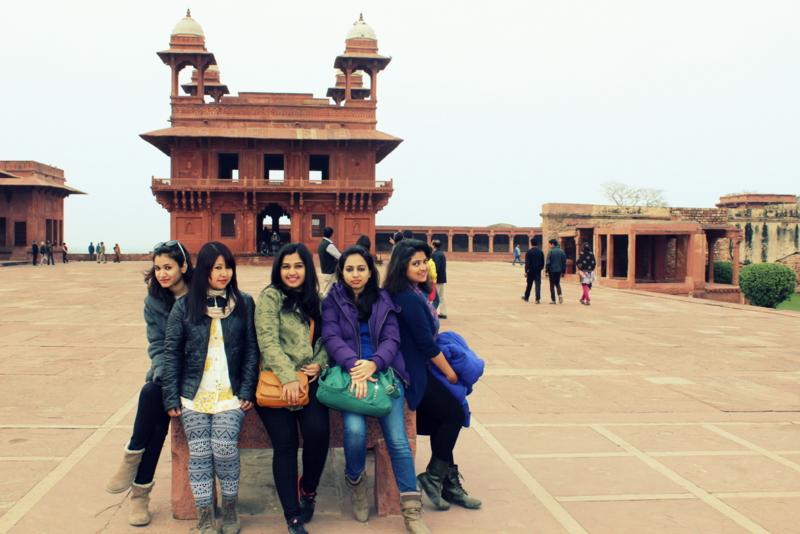 fort Fatehpur Sikri - India joanna wongden