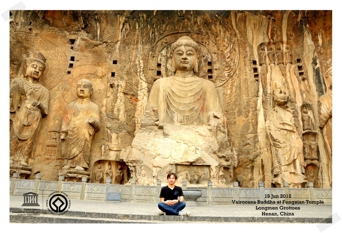 The Giant Buddha Longmen Grottoes - China Thomas shaw