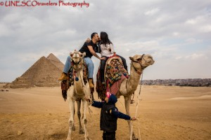 The Pyramids of Giza @ Cairo, Egypt